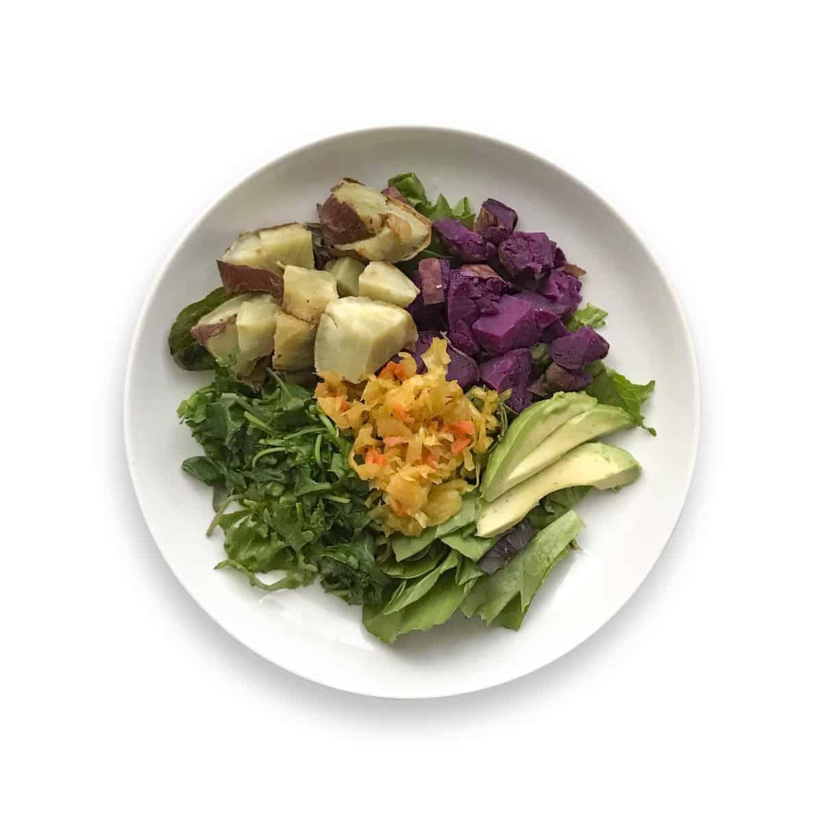 rainbow wellness breakfast bowl - Chef Whitney Aronoff | Starseed Kitchen