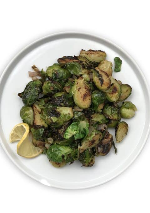 lemon brussels sprouts - Chef Whitney Aronoff | Starseed Kitchen