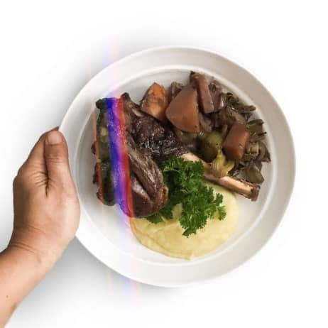 Slow cooked lamb shanks - Chef Whitney Aronoff | Starseed Kitchen