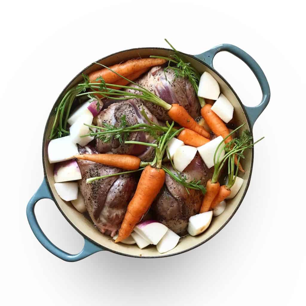 Winter Lamb Stew with Bone Broth & Root Vegetables - Chef Whitney Aronoff | Starseed Kitchen
