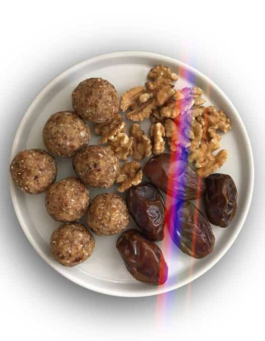 Date Walnut Energy Balls