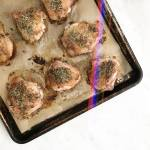 Herbs de Provence Roasted Chicken Thighs - Chef Whitney Aronoff | Starseed Kitchen