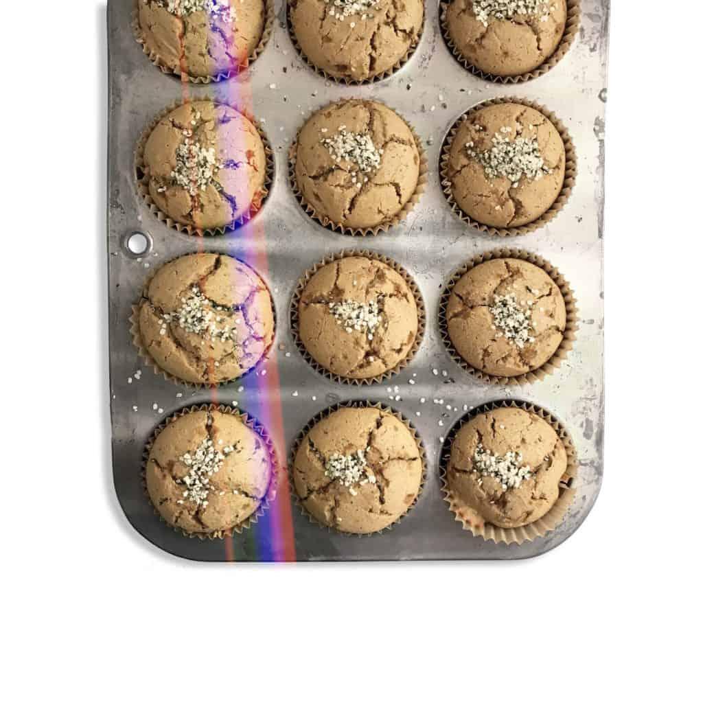 Grain-Free Lemon Poppy Seed Muffins - Chef Whitney Aronoff   Starseed Kitchen