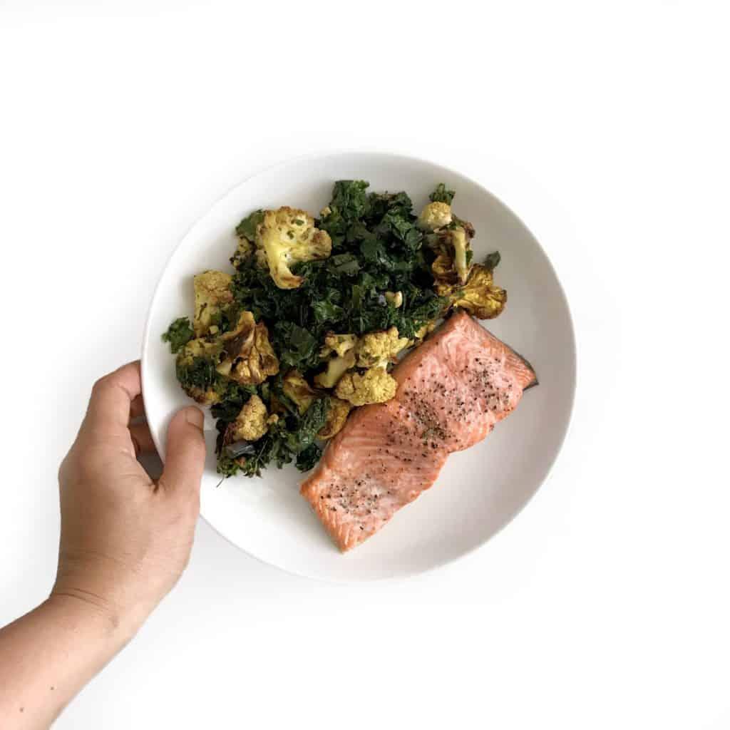 Roasted Cauliflower Curry Salad - Chef Whitney Aronoff | Starseed Kitchen