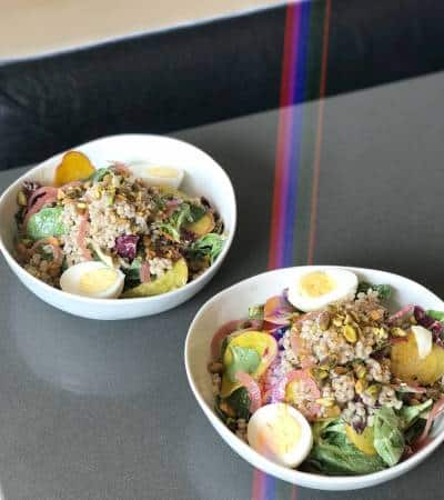 Radicchio & Golden Beet Grain Bowl - Chef Whitney Aronoff | Starseed Kitchen