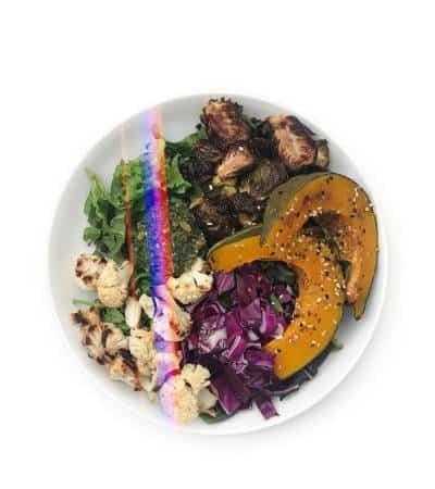 Fall Meal Prep Salad with kabocha squash - Chef Whitney Aronoff | Starseed Kitchen
