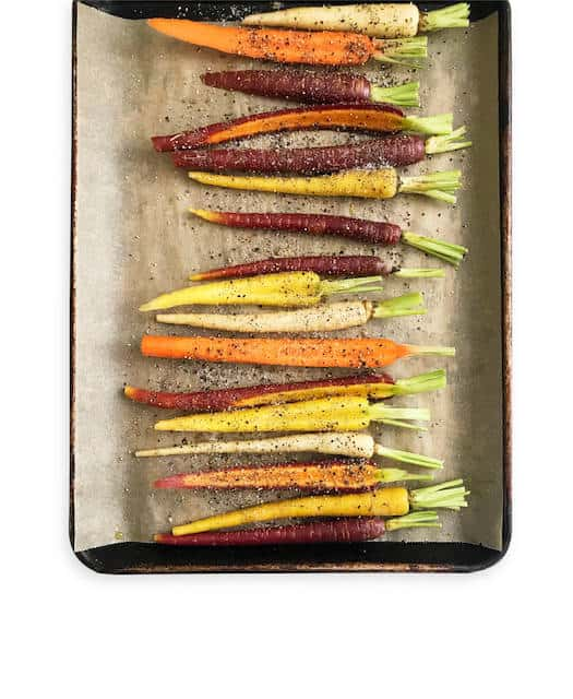 Roasted Rainbow Carrots - Chef Whitney Aronoff   Starseed Kitchen