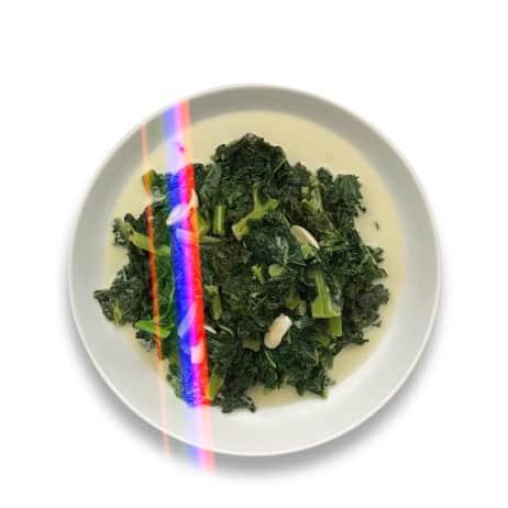 Easy Keto Coconut Kale - Chef Whitney Aronoff | Starseed Kitchen