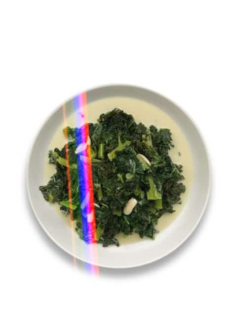 Easy Keto Coconut Kale - Chef Whitney Aronoff   Starseed Kitchen