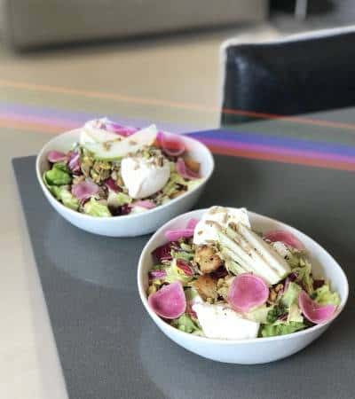 Pear Panzanella Salad with Pistachios & Burrata - Chef Whitney Aronoff | Starseed Kitchen