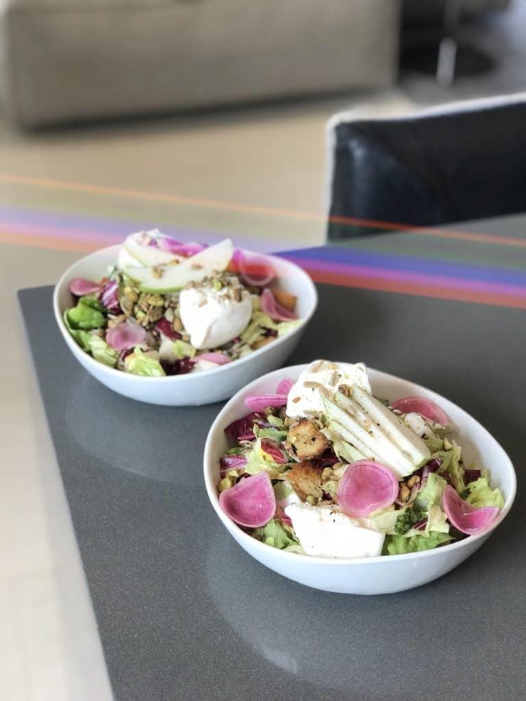 Pear Panzanella Salad with Pistachios & Burrata - Chef Whitney Aronoff   Starseed Kitchen