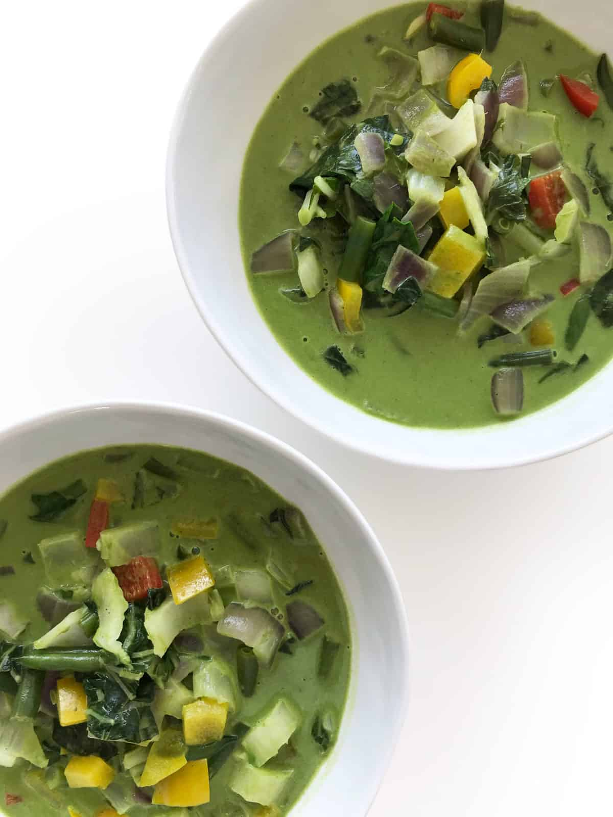 Vibrant Thai Green Chicken Curry - Chef Whitney Aronoff | Starseed Kitchen