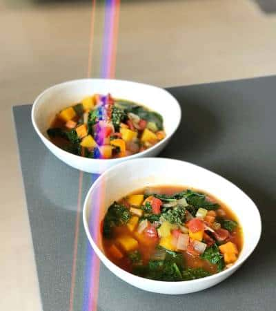 Rustic Winter Minestrone Soup - Chef Whitney Aronoff | Starseed Kitchen