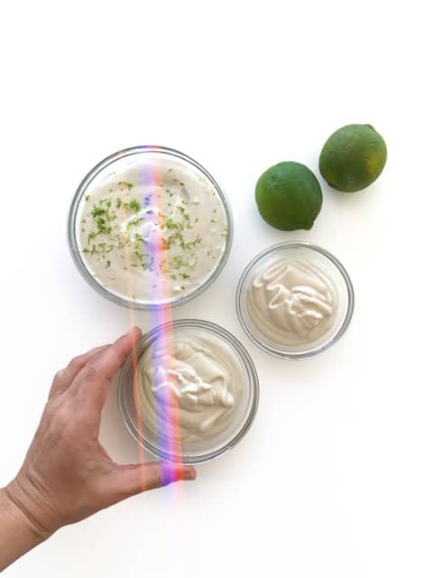 Cashew Lime Crema - Chef Whitney Aronoff | Starseed Kitchen