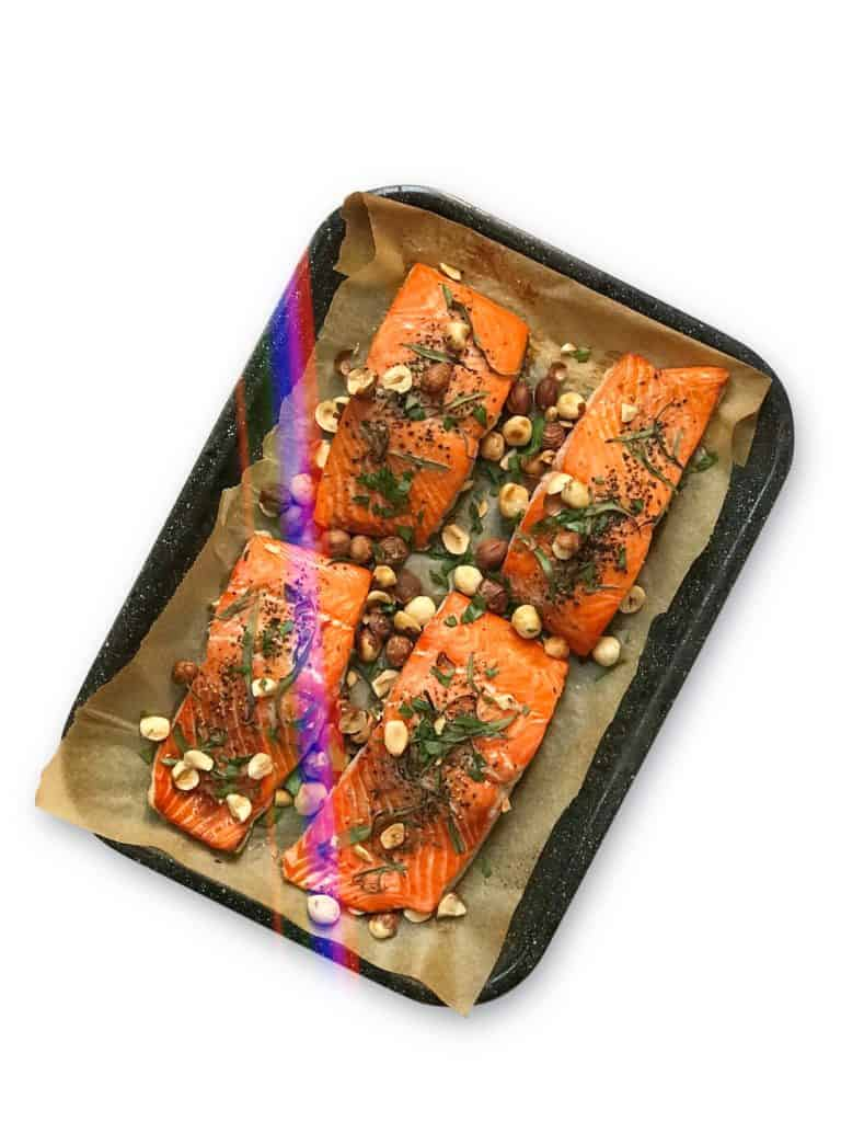 Perfectly Baked Salmon for meal prep - Chef Whitney Aronoff | Starseed Kitchen