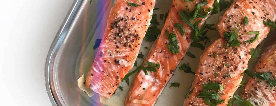 Easy Meal Prep Salmon - Chef Whitney Aronoff | Starseed Kitchen