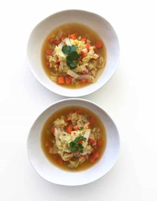 Bright & Healthy Lemon Coriander Soup - Chef Whitney Aronoff | Starseed Kitchen