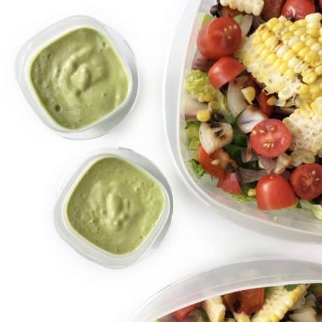 Cilantro Avocado Dressing - Chef Whitney Aronoff | Starseed Kitchen