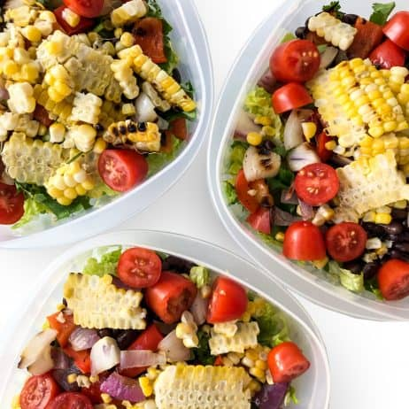 Grilled Corn Mexican Salad - Chef Whitney Aronoff | Starseed Kitchen