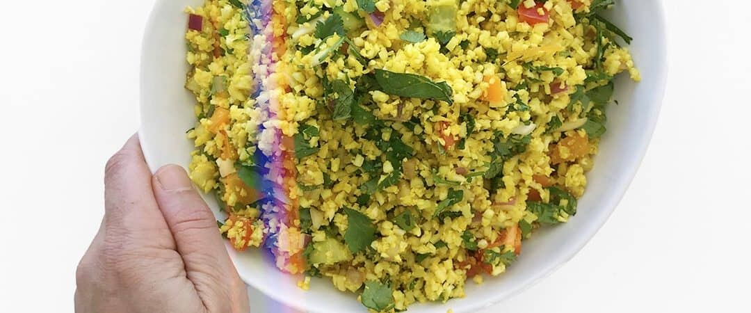 Curried Cauliflower Couscous - Chef Whitney Aronoff | Starseed Kitchen
