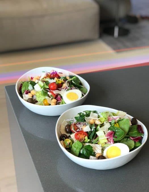 Vegetarian Italian Green Salad - Chef Whitney Aronoff   Starseed Kitchen