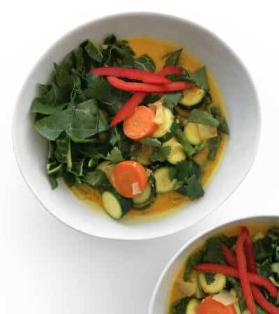 Thai Yellow Coconut Curry - Chef Whitney Aronoff | Starseed Kitchen