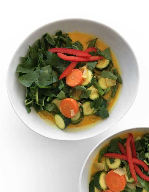 Thai Yellow Coconut Curry - Chef Whitney Aronoff   Starseed Kitchen