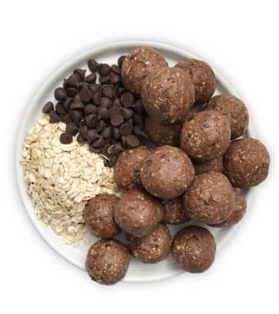 Oatmeal Balls with Chocolate Chips - Chef Whitney Aronoff | Starseed Kitchen