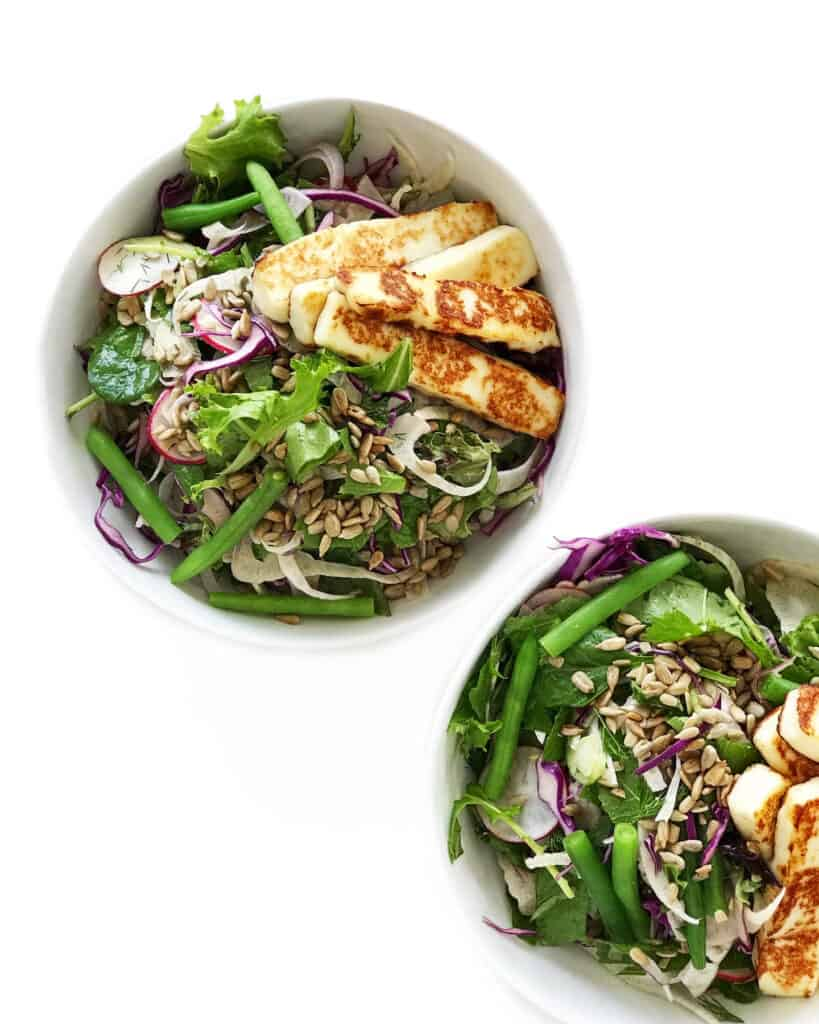 Halloumi Salad Recipe - Chef Whitney Aronoff | Starseed Kitchen