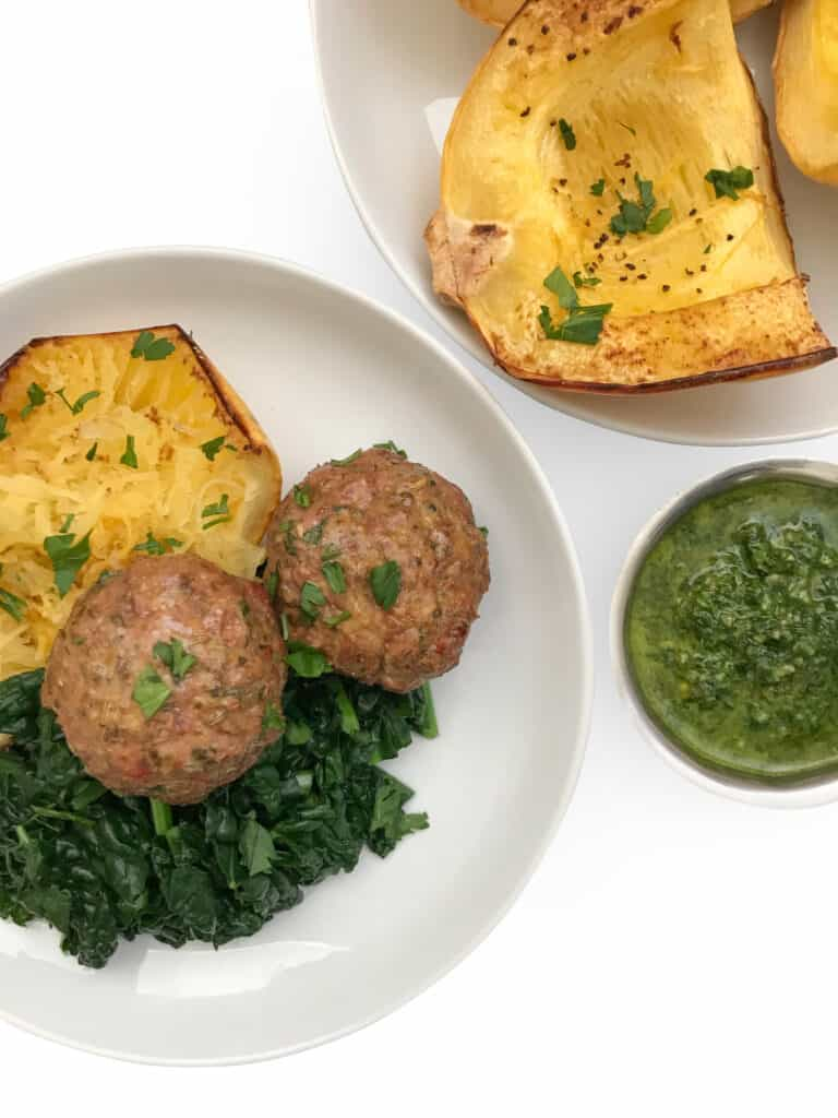 Lamb Meatballs Paleo - Chef Whitney Aronoff | Starseed Kitchen
