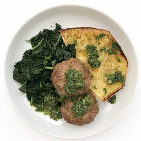 Keto Lamb Meatballs - Chef Whitney Aronoff | Starseed Kitchen