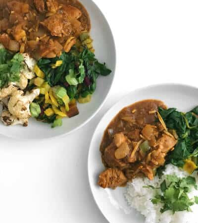 Easy Indian Red Chicken Curry Recipe - Chef Whitney Aronoff | Starseed Kitchen
