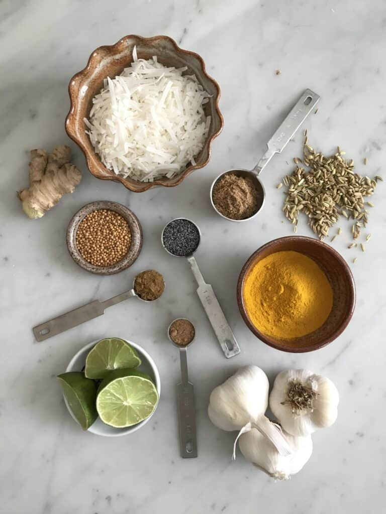 Simple Ingredients for Red Chicken Curry Recipe - Chef Whitney Aronoff | Starseed Kitchen