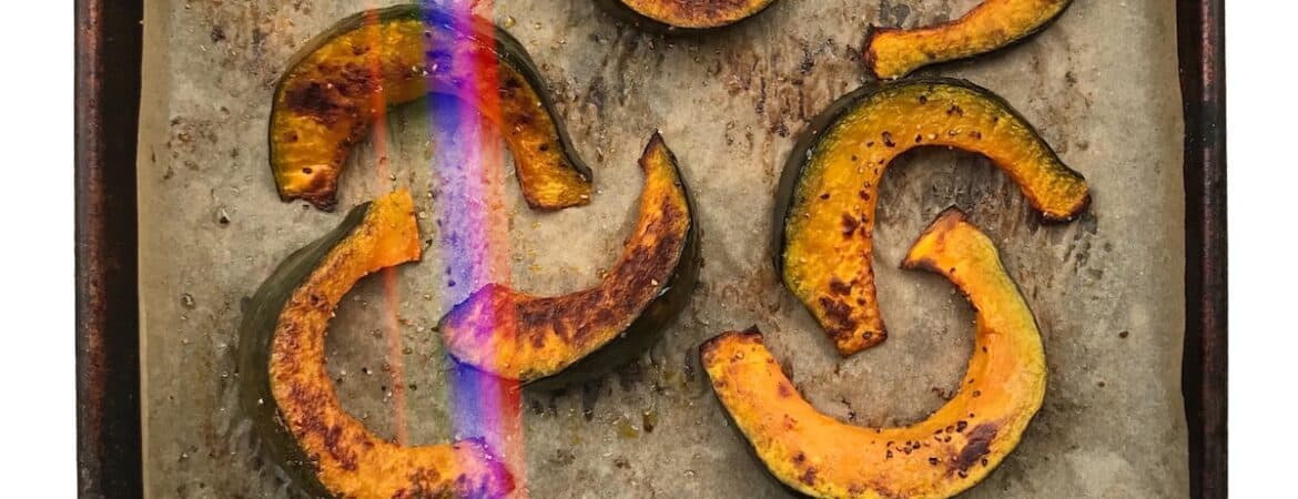 How to oven roast kabocha squash, pumpkin and winter squash
