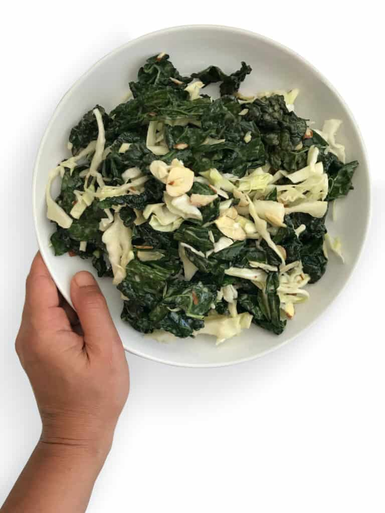 How to make Erewhon Markets Kale & Cabbage Slaw