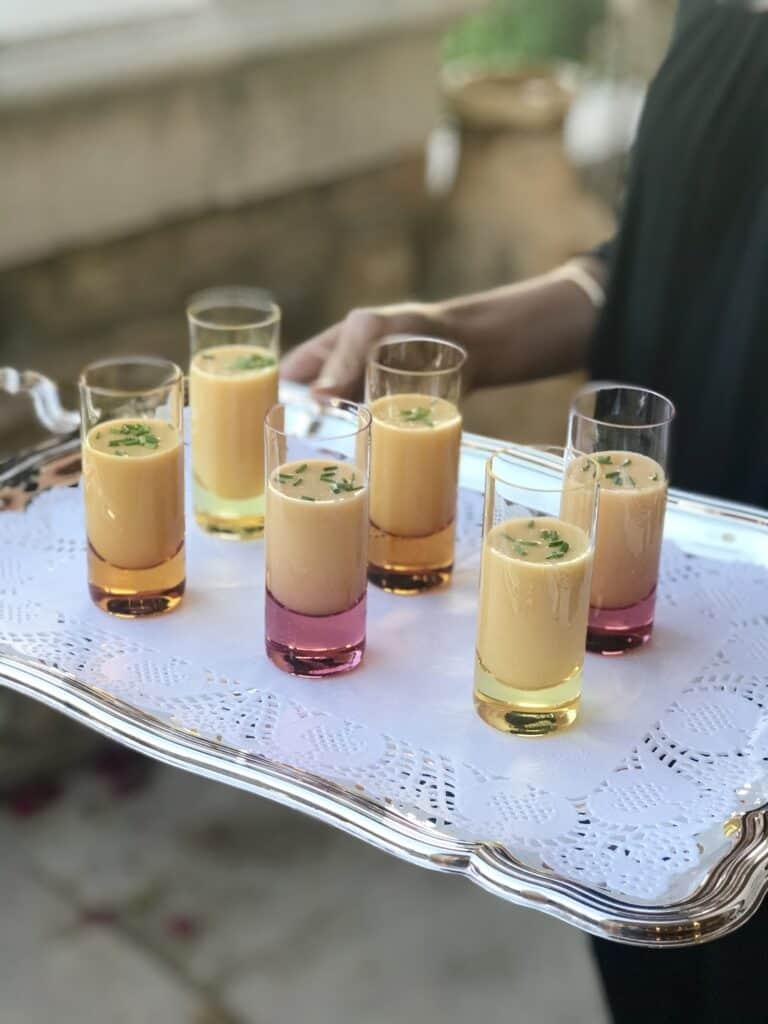 High Vibrational Golden Heirloom Tomato Gazpacho Soup