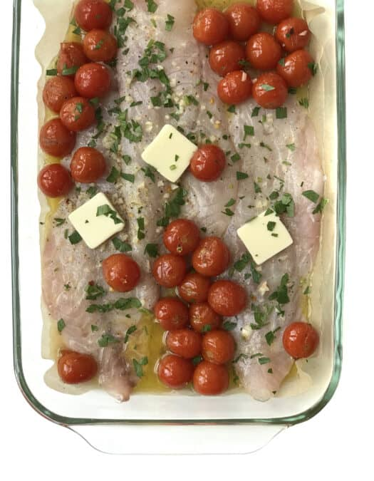 Baked Lemon Butter Rockfish Recipe for Meal Prep
