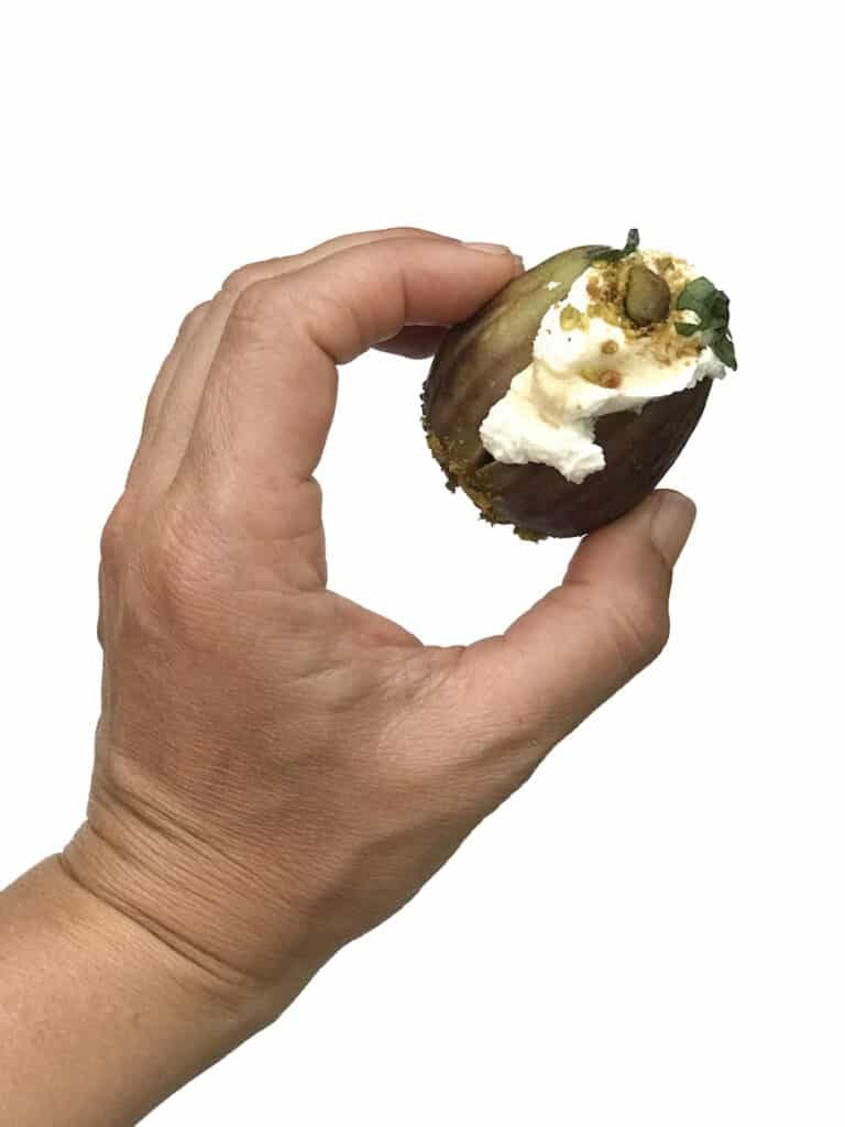 How to make Stuffed Figs with Whipped Feta and Pistachios