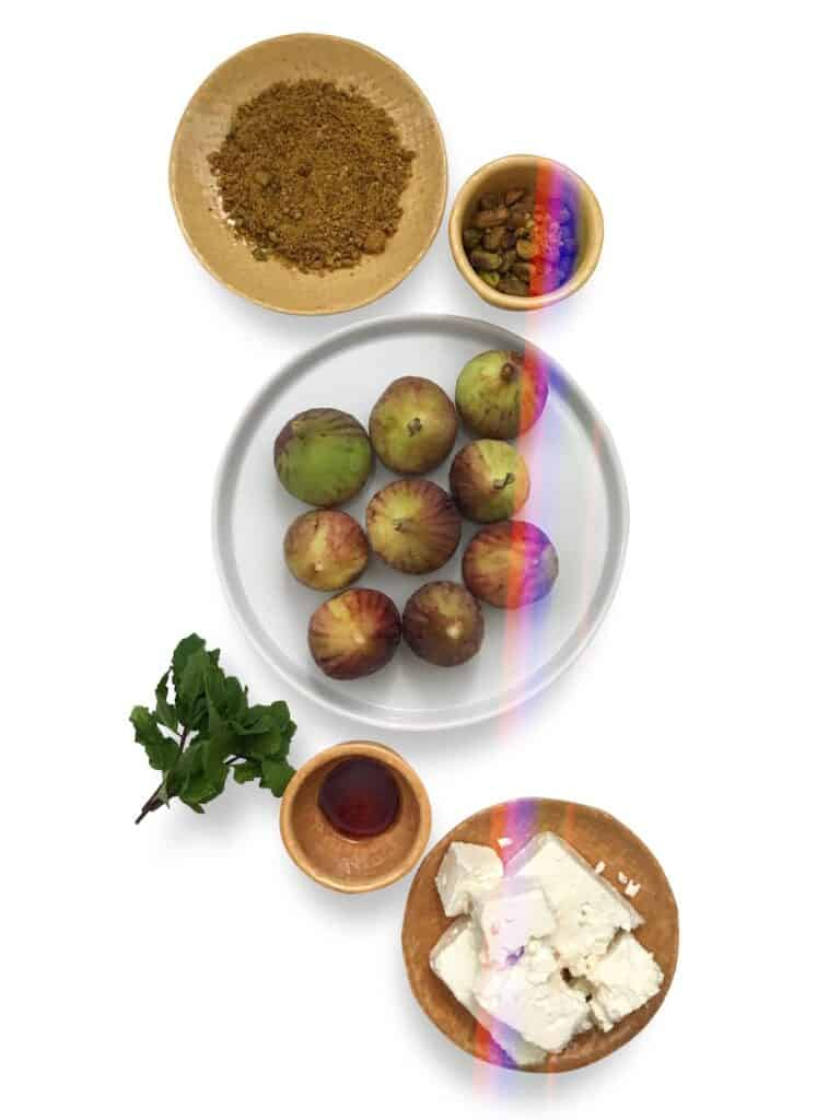 How to make Stuffed Figs with Feta and Pistachios