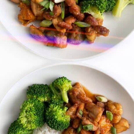 Healthy Orange Chicken Recipe - Gluten Free, Soy Free, Refined Sugar Free