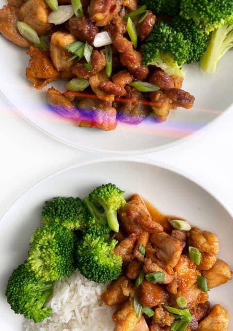 Healthy Orange Chicken Recipe - Gluten Free, Soy Free, Refined Sugar Free