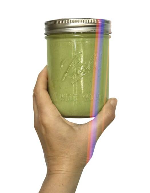 Dairy Free & Vegan Green Goddess Dressing with Fresh Herbs
