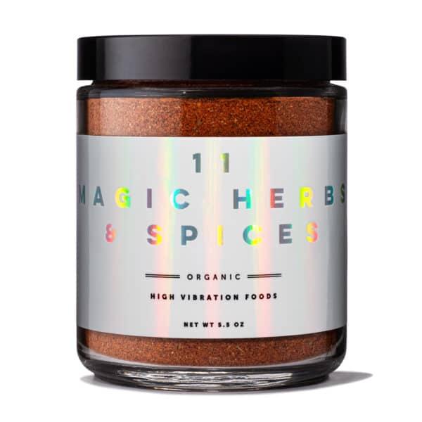Starseed Kitchen 11 Organic Magic Herbs & Spices