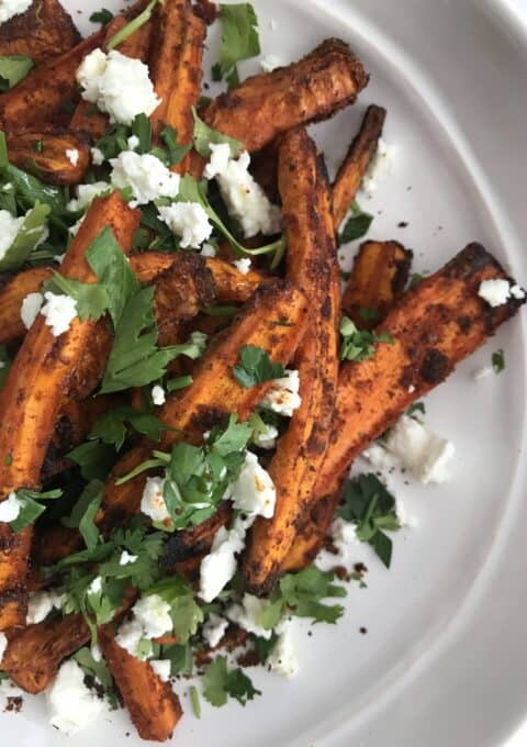 Roasted Carrot Salad with Starseed Kitchen 11 Magic Herbs & Spices